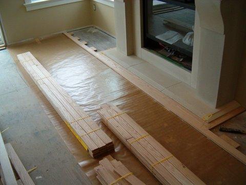Unfinished hardwood flooring is the best start for your career for Best flooring installers